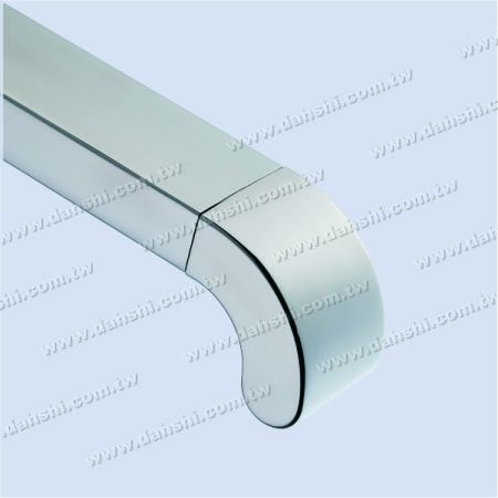 for Rectangle Pipe - Stainless Steel Rectangle Tube 90degree Elbow Dome Top End Cap