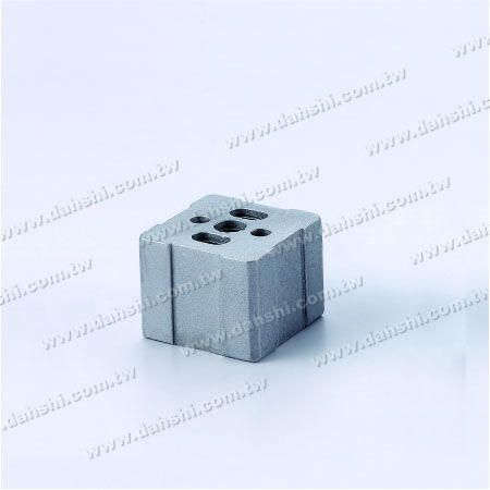 Stainless Steel Square Tube Handrail Connector External Fit - Stainless Steel Square Tube Handrail Connector External Fit