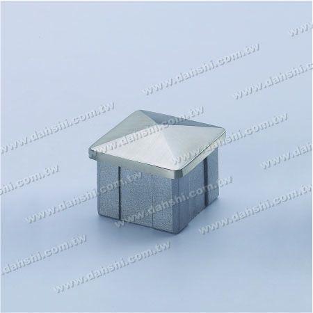 الفولاذ المقاوم للصدأ ساحة الأنبوبة Spire Top End Cap - الفولاذ المقاوم للصدأ ساحة الأنبوبة Spire Top End Cap