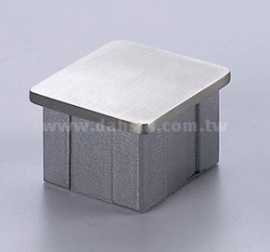 STAINLESS STEEL END-CAP FOR SQUARE TUBE  ( SS:40021SQ) - STAINLESS STEEL END-CAP FOR SQUARE TUBE  ( SS:40021SQ)