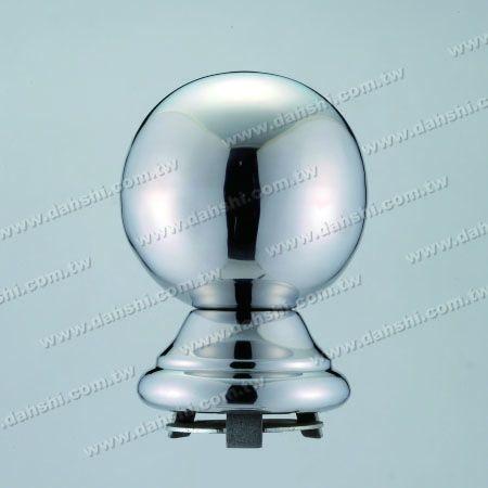 """Paslanmaz Çelik 4 1/4 """"Ball x H5 1/2"""" 3 """"Boru için Kapaklı - Paslanmaz Çelik 4 1/4 """"Ball x H5 1/2"""" 3 """"Boru için Kapaklı"""
