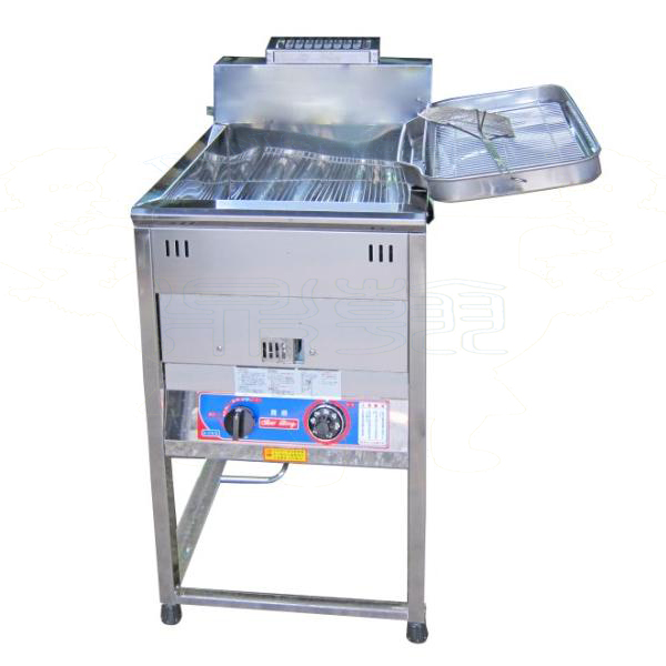 Grounding-Type Oil Fryer