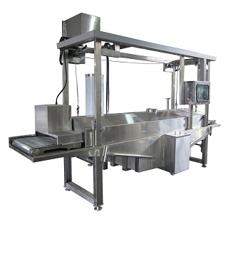 Continuous Frying Machine - Continuous Frying Machine