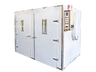 Batch-Type Double Doors Dryer - Double Doors