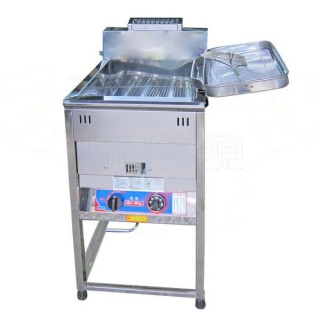 Vertical-Type Oil Fryer (common-heating-pipe) - Grounding-Type Oil Fryer