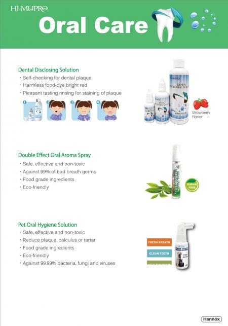 Hannox Oral care Products