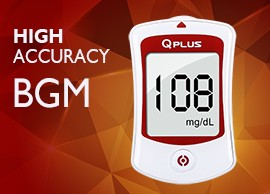 QPLUS Blood Glucose Meter