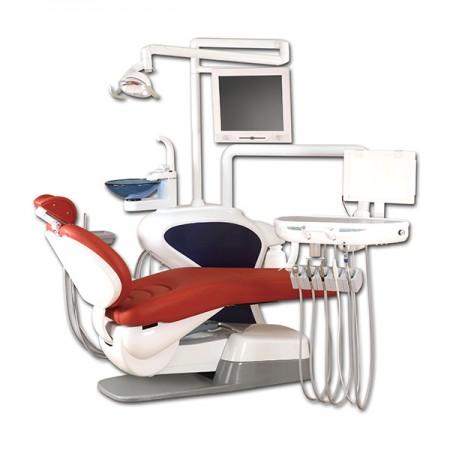 Зубчатое кресло гидравлической системы - Гидравлическая стоматологическая установка