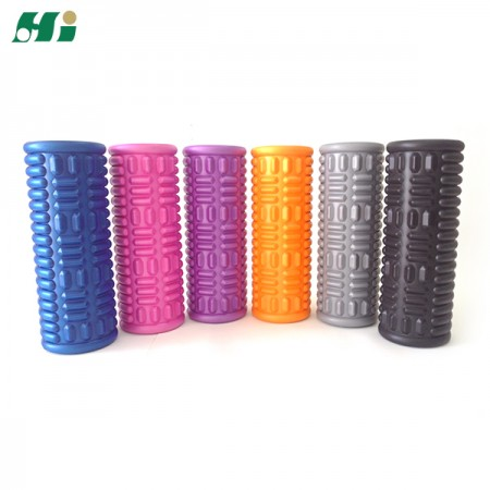 Hollow Core Massage Foam Roller (33cm/38cm) - Hollow Core Massage Grid Foam Roller
