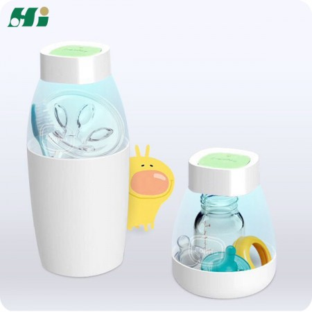 Portable Baby Bottle / Teether Sterilizer - 6 mins Portable Baby Bottle Sterilizer Hi Hannox