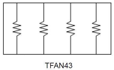 Resistor Array (TFAN Series) Manufacturers - Viking