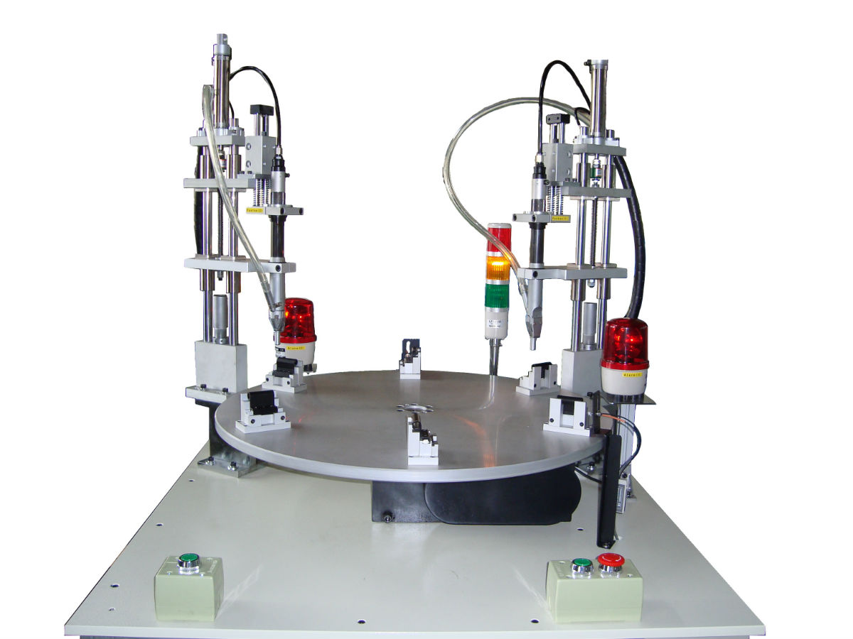 Free Building Design Index Table Automatic Screw Feeder Fastening System Hand