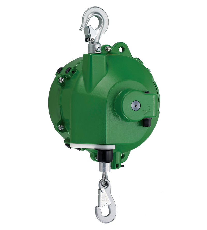 Spring Balancer, 105kg~120kg,  Gravity Free - Tool balancer to suspend tool with spring flexibility and zero gravity performance