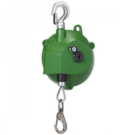 Tool Suspend Spring Balancer , 3kg~5kg, in Zero Gravity - Tool balancer to suspend tool with spring flexibility and zero gravity performance