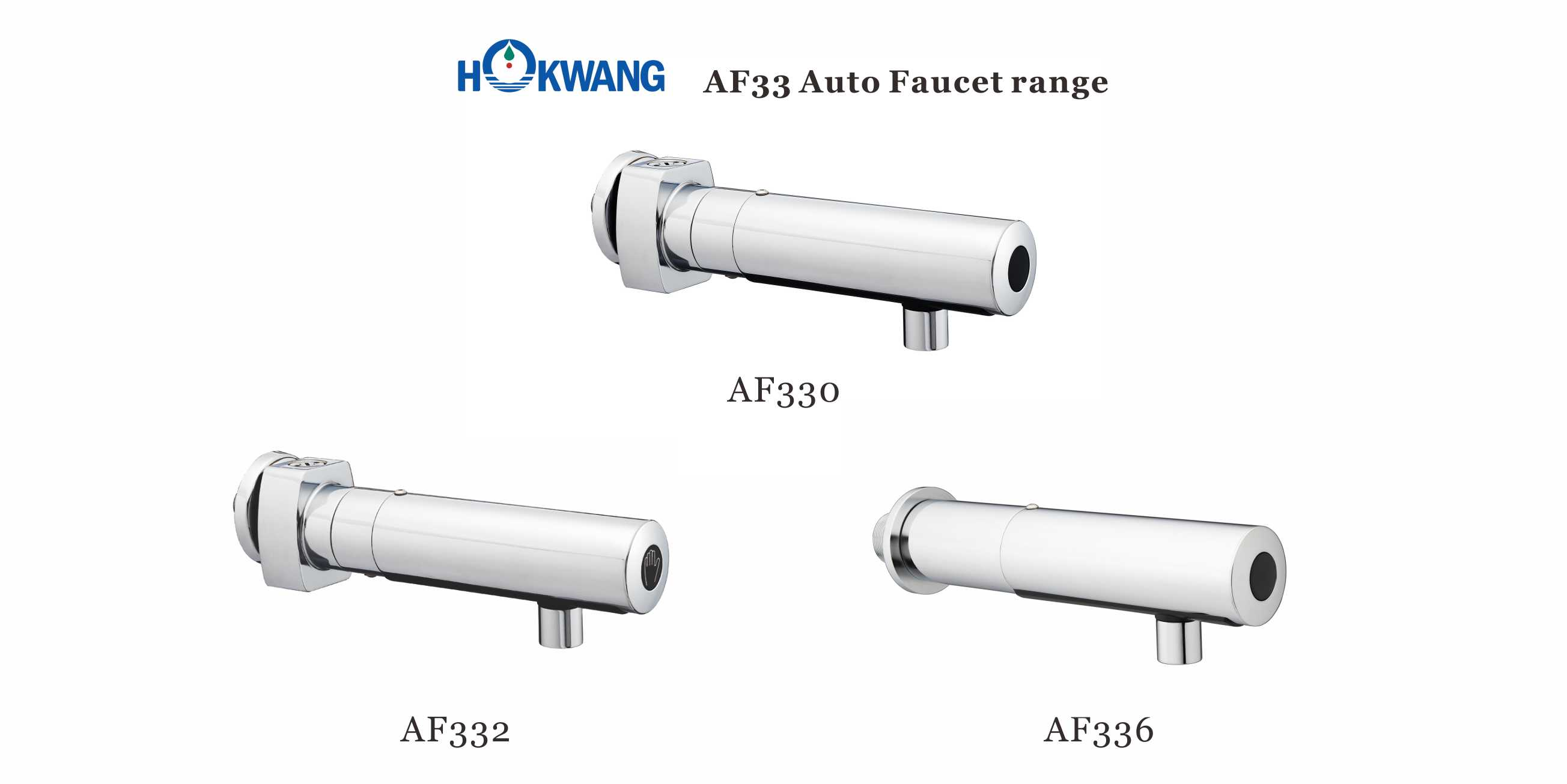 AF33 Series Auto Wall Mounted Faucet