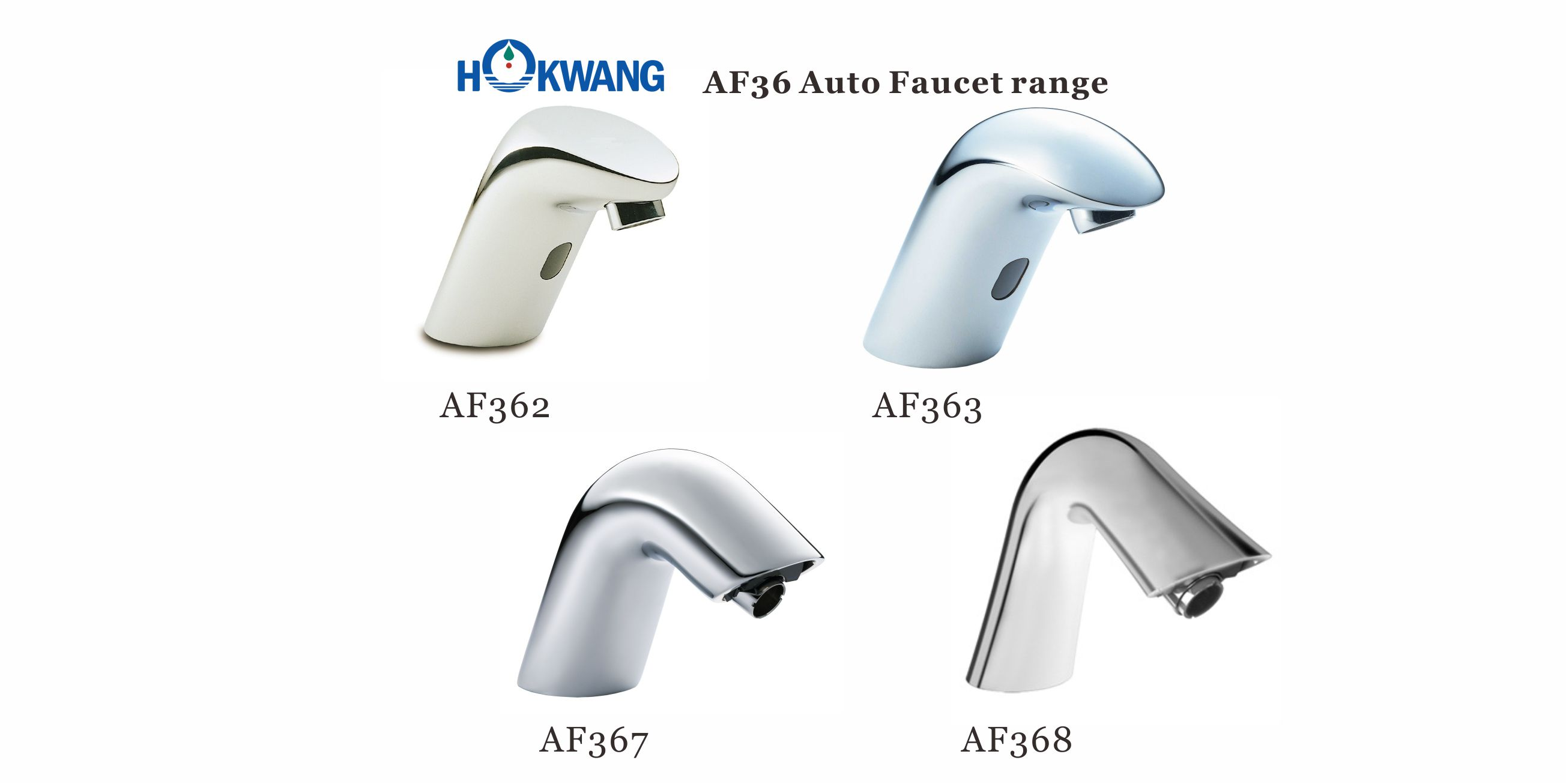 AF36 Series Auto Deck Mounted Faucet