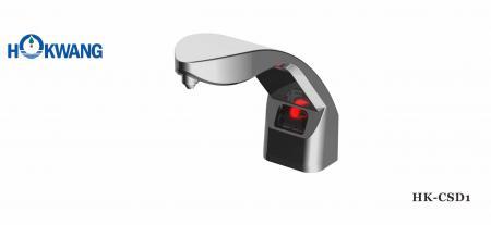 Auto Chrome Plated Plastic Deck Mounted Liquid/Foam Soap Dispenser