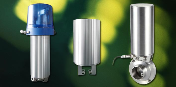 Actuator and stainless steel vacuum components