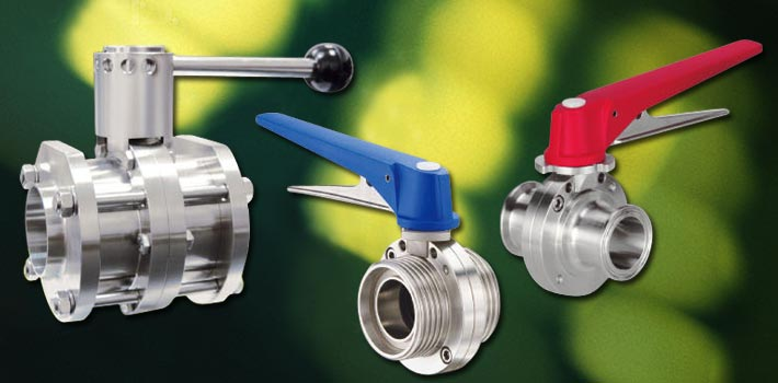 Butterfly Valve and stainless steel vacuum components