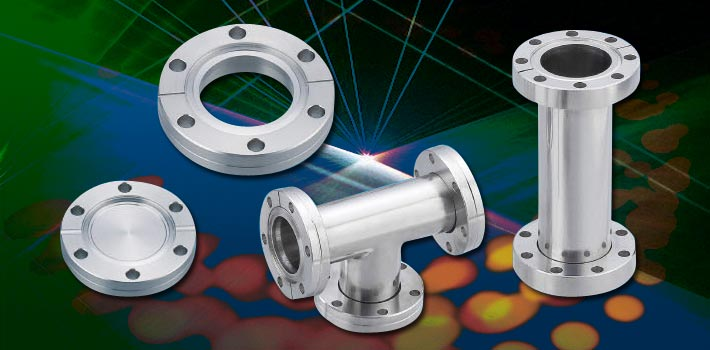 CF Flange Series and stainless steel vacuum components