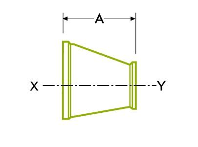 Concentric Reducer - ร่วมสุขลักษณะ Clamp
