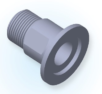 KF Male Pipe Adapter