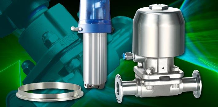 Sikkerhedsventiler og vakuumkomponenter i rustfrit stål