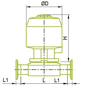 Actuator Diaphragm Valve Actuator Diaphragm Valve