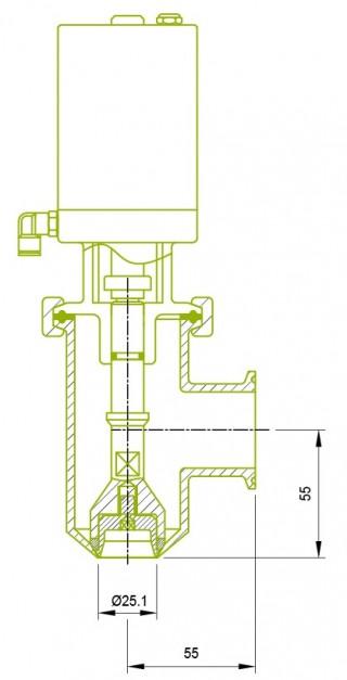 Filling valve Filling valve