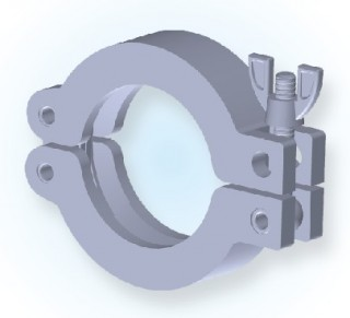 KF Double Pin Clamp(Al+Ni) KF