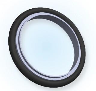 NW-Certer-Ring + O-Ring (Jis-Typ) NW