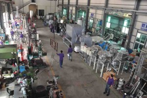 Sector of Pulverizing/Grinding machinery manufacturing、processing and assembly