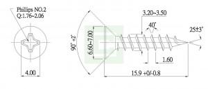 Chipboard Screw - Chipboard Screw