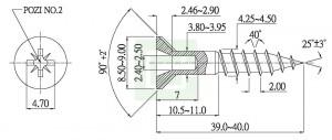 Supa Chipboard Screw - Supa Chipboard Screw