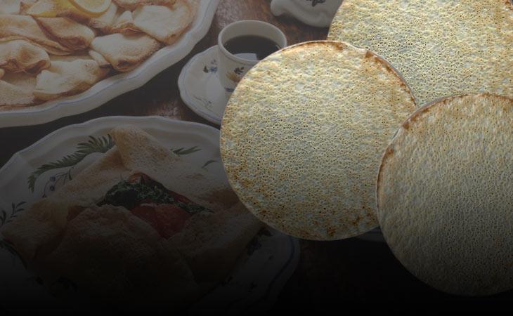 Bánh Crepe , Bánh Crepe kiểu Pháp, crêpe