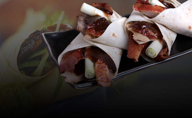 Peking duck wrapper