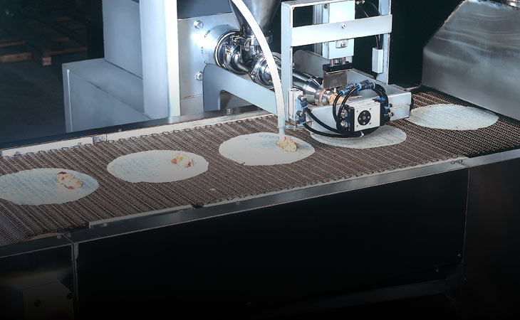 Vitenam spring roll processing machine RPS series, spring roll processing machine RPS series