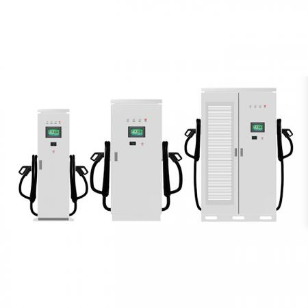 Electric Vehicle DC Quick Charger, European Standard, 1 or 2 guns