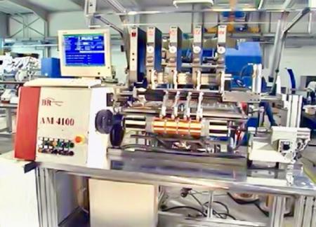 Wickelmaschine - Automatische Wickelmaschine von Transformatoren