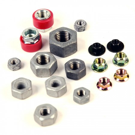 Nuts or Fasterners with a Threaded Hole