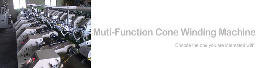Muti-function Cone Winding Machine