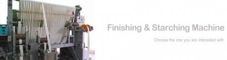 Label Finishing & Starching Machine - Label Finishing & Starching Machine