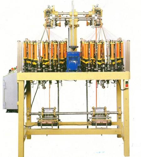 High Speed Braiding Machine (Flat tape) - DKF High Speed Braiding Machine