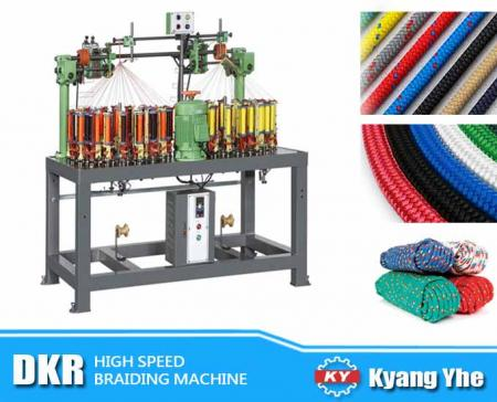 High Speed Rope Braiding Machine - DKR High Speed Rope Braiding Machine