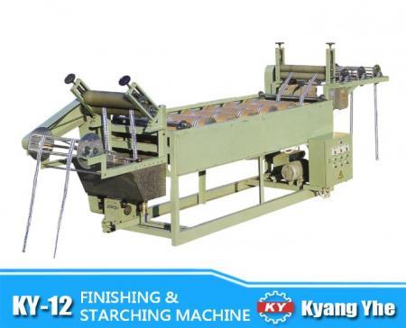 Finishing & Starching Machine - KY-12 Finishing & Starching Machine