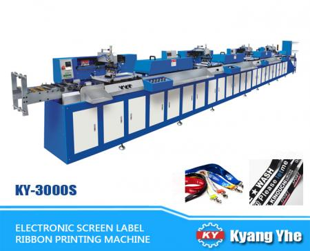 Electronic Screen Label - Ribbon Printing Machine