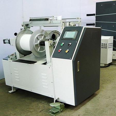 Small Size Beam Rubber Warping Machine - KY-450 Rubber Warping Machine