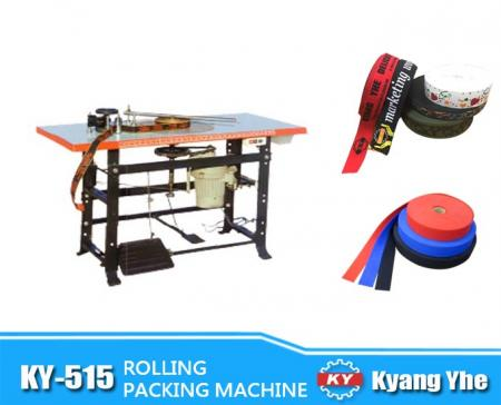 Tape Rolling Machine - KY-515 Tape Rolling Packing Machine