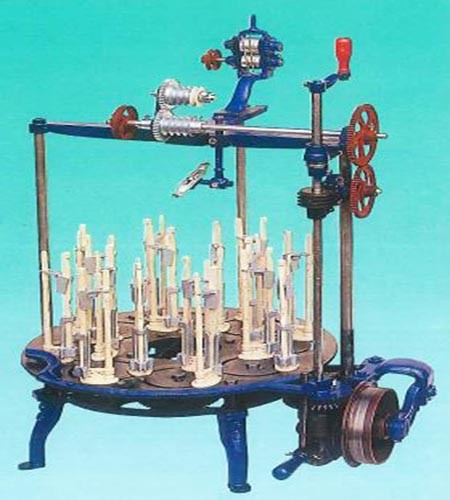 Traditional Braiding Machine (Round rope) - KY-601 Traditional Braiding Machine