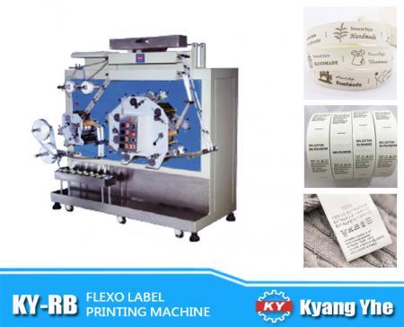 Flexo Label Printing Machine - KY-RB Flexo Label Printing Machine